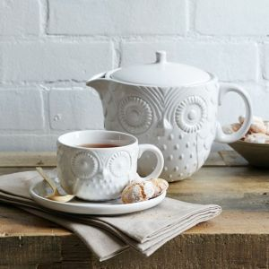West Elm Owl Teapot Set